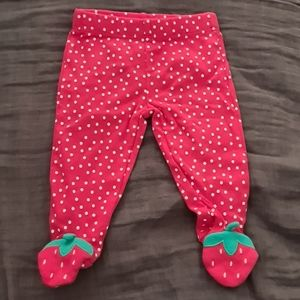 Carter's Newborn Cotton Footed Pants